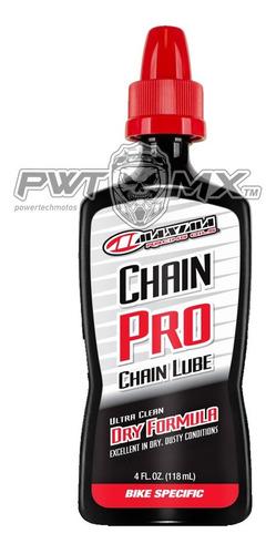 Aceite Lubricante Cadena Bici Pro Maxima  Formula Seca