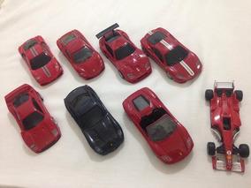 Ferrari Shell 1:38 Lote 8 Carros Usados Ler Tudo R$155,98