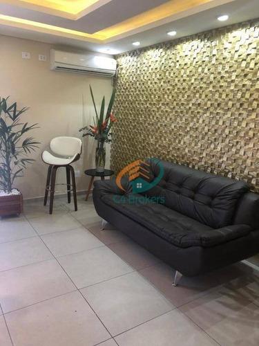 Imagem 1 de 11 de Apartamento Com 2 Dormitórios À Venda, 42 M² Por R$ 240.000 - Vila Rio De Janeiro - Guarulhos/sp - Ap1401