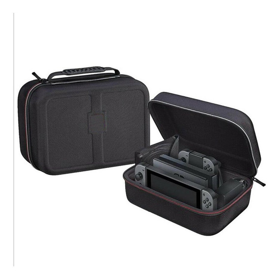 Bolsa Mala Nintendo Switch Maleta Case Bag Viagem Cabe Tudo