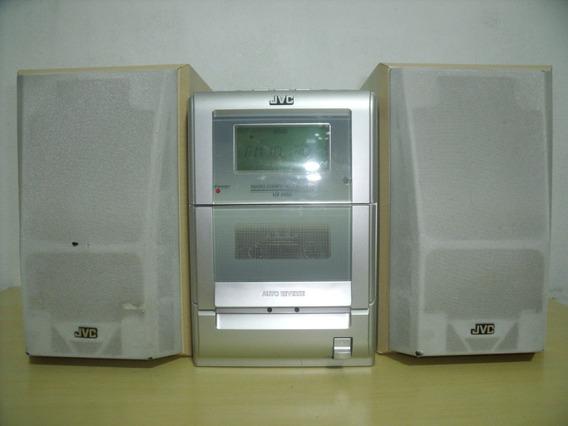 Raro Mini Micro System Jvc Modelo Ca Uxh30 Cd,tape E Radio