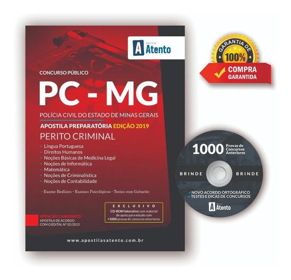 Apostila Pc-mg -perito Criminal-edição 2019( Preparatória )