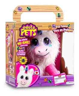 Adota Pets Dreamy Unicórnio Pelúcia Infantil Multikids