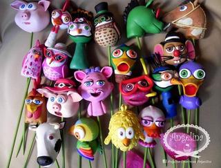 10 Pinchos Golosineros De La Granja De Zenon!! Candy Bar!!