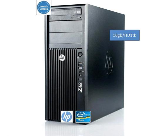 Imagem 1 de 7 de Servidor  Hp Torre Intel Xeon E3  Quad Core