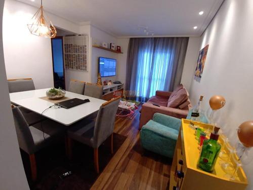 Apartamento No Bairro Vila Das Merces Em Sao Paulo Com 02 Dormitorios - V-30868