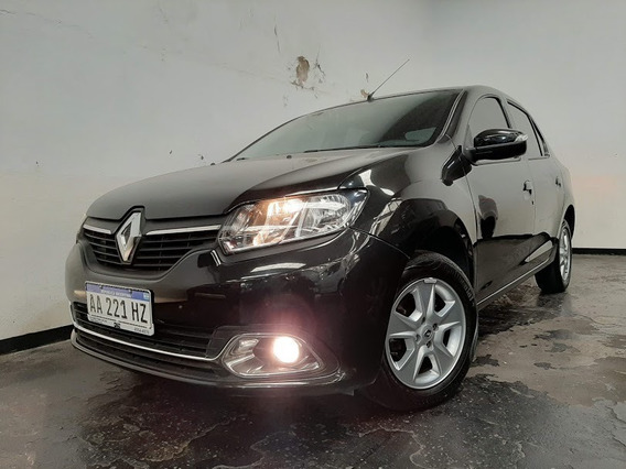 Renault Logan Privilege 1.6 16v 2016 Negro Ideal Taxi (mac)