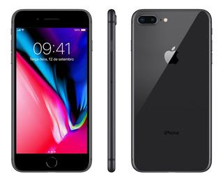 iPhone 8 Plus Preto 64gb Vitrine