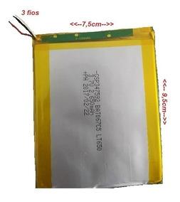 Bateria Tablet Dl 3420. 3.7v Intel Inside 3 Fios
