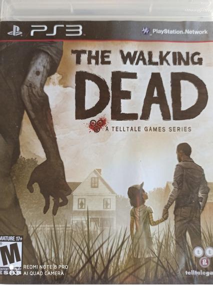 The Walking Dead Ps3 Midia Física , A Pronta Entrega