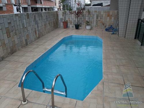 Apartamento Com 1 Dorm, Aviação, Praia Grande - R$ 196 Mil, Cod: 9335 - V9335