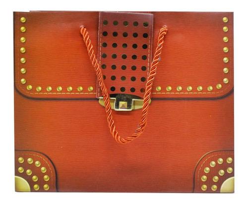 Imagem 1 de 4 de Sacola Tipo Bolsa - Bolsa Fake Importada 18x22x10 Cm