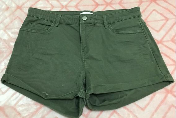 Short De Jeans Elastizado De H&m (38 De Argentina)