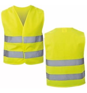 Chaleco Reflectante Seguridad Amarillo Reglamentario