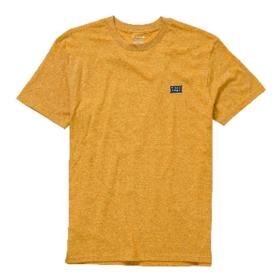 Remera Billabong All Day Tee Gold Hombre Mbremall
