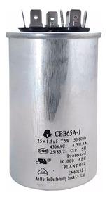 Capacitor Ar Condicionado Lg Duplo Cbb65a-1 25+1,5uf