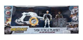 Military Force 2 Figuras Playset Militar C/accesorios 71313