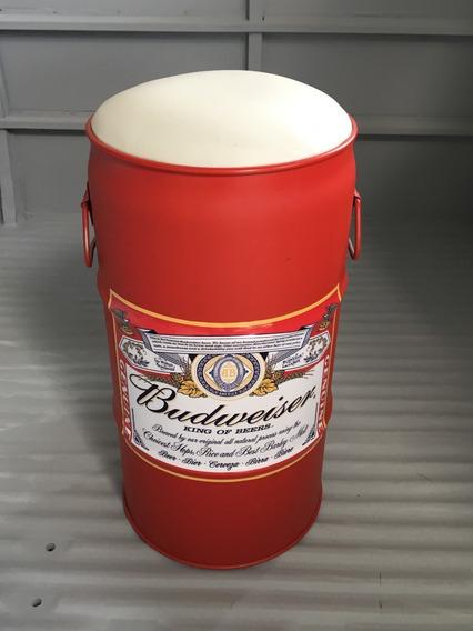 Banqueta Budweiser - Barril, Tambor, Tonel