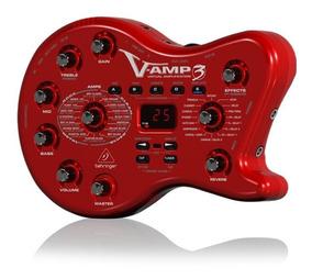 Pedaleira Behringer V-amp3 Para Guitarra