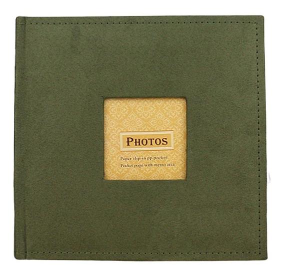 Verde Velvet Face 6 Polegadas Álbum De Fotos Criativo Armaze
