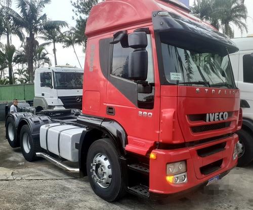 Iveco  380 Teto Alto 6x2 2008