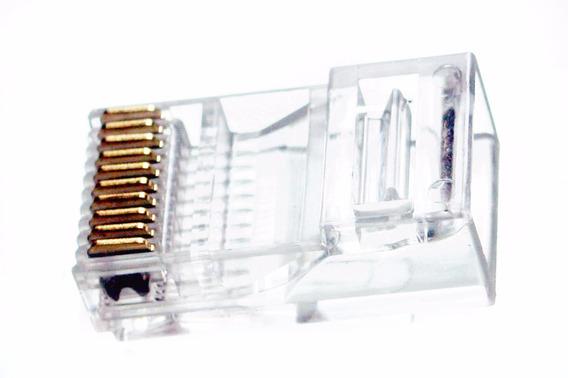 Conector Plug Rj50, 10p10c, 10 Pin 10 Conectores, Paquete 10