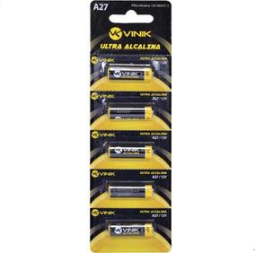 Pilha Alcalina A27 Blister 5 Unidades Aka27-5 Vinik
