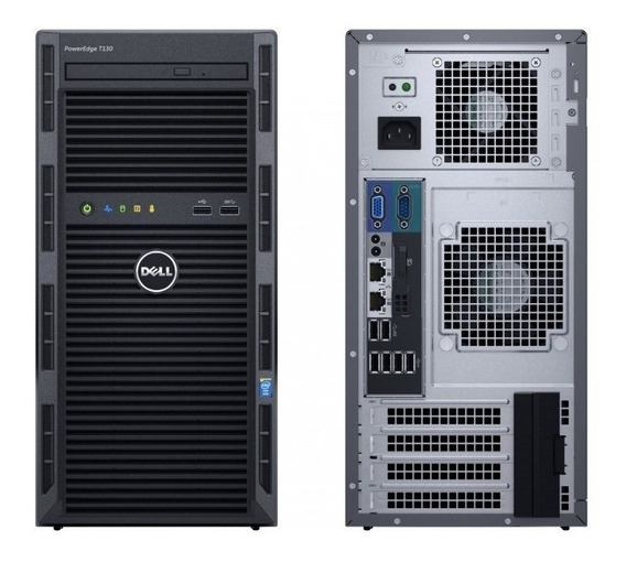 Servidor Dell Poweredge T130 (xeon E3-1220 V6, Ram 16gb)