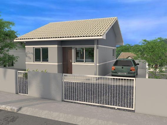 Casa Em Loteamento Jardins, Palhoça/sc De 52m² 2 Quartos À Venda Por R$ 215.000,00 - Ca361213