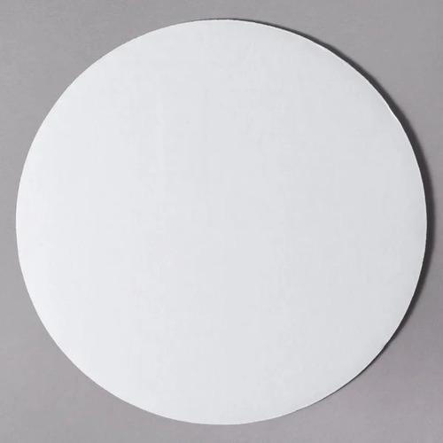 Empaque De 25 Bases Blancas Para Pizzas / Tortas