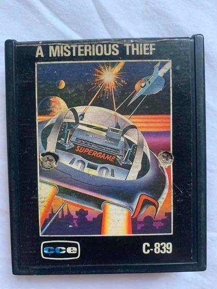 Jogo Cartucho Atari / Cce A Misterious Thief
