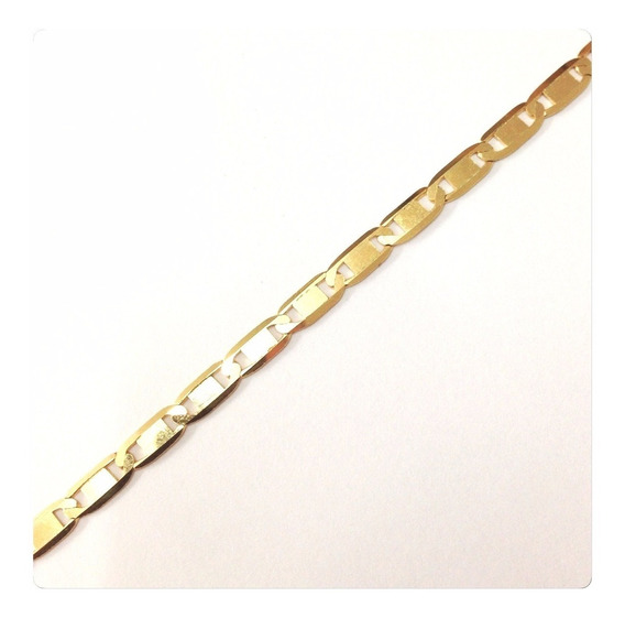 Cordão Corrente Masculina Em Ouro 18k Piastrine Maciça 70