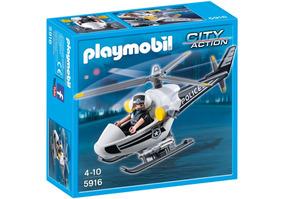 Brinquedos Para Meninos Helicóptero Polícia Playmobil 5916