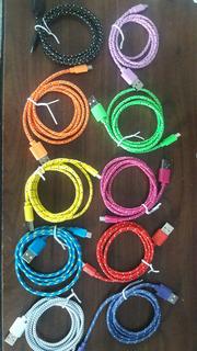 Cables Usb De Nylon Trenzado De 1 M