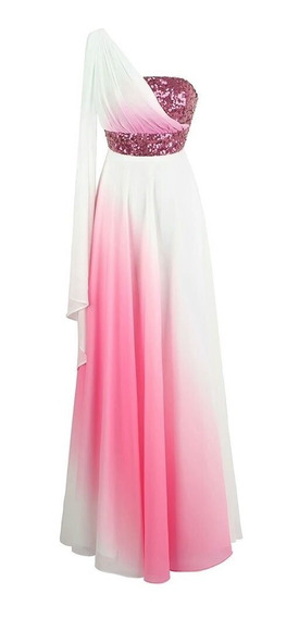Hermoso Vestido De Fiesta Largo