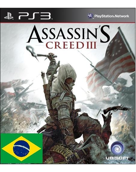 Assassins Creed Iii Psn Ps3 Envio Rapido