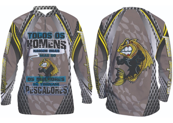 Camisa De Pesca Esportiva Personalizada #104