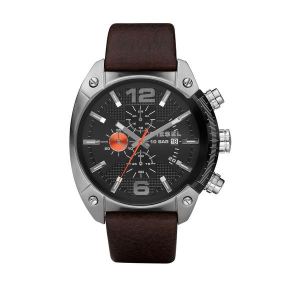Relógio Diesel Masculino Pulseira Couro Dz42040pn