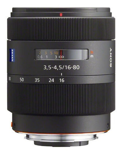 Lente Sony Dt 16-80mm F/3.5-4.5 Za Vario-sonnar T* A-mount (