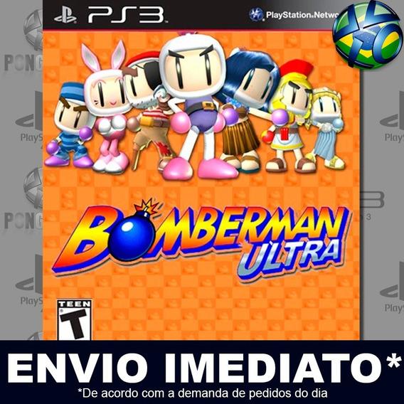Bomberman Ultra Ps3 Psn Jogo Em Promoção A Pronta Entrega