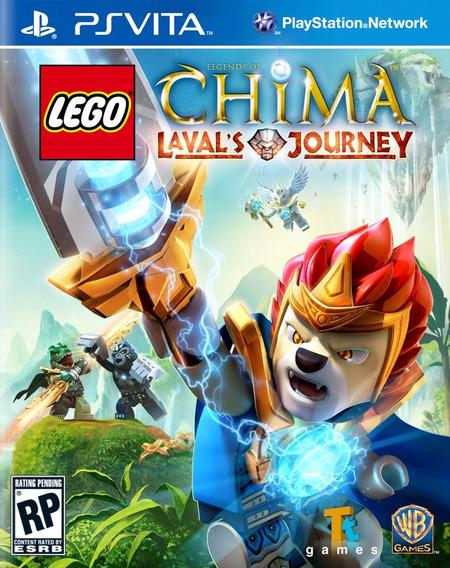 Jogo Lego Ps Vita Psvita Lego Chima Pronta Entrega