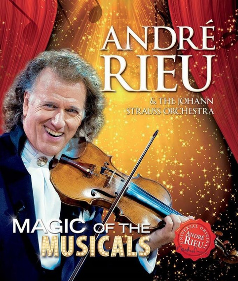 André Rieu Magic Of The Musicals - Blu Ray Clássica