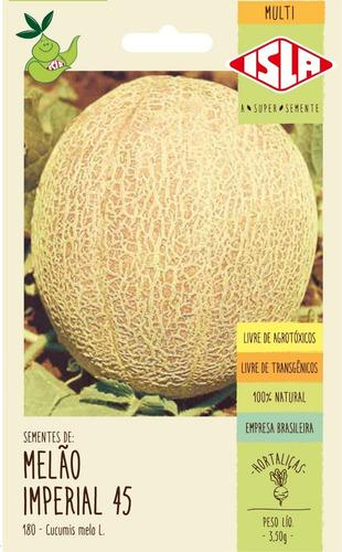 Sementes De Melão Imperial 45