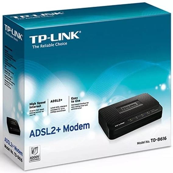 Modem Tp-link Adsl2 Td-8616 Banda Ancha Internet Cod 0636