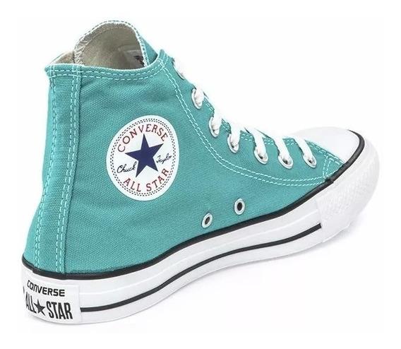 Zapatillas Mujer Bota Converse All Star Hi Turbo Green