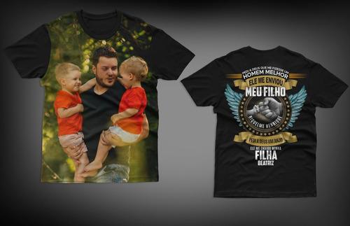 Camisa Dia Dos Pais -  Personalizada