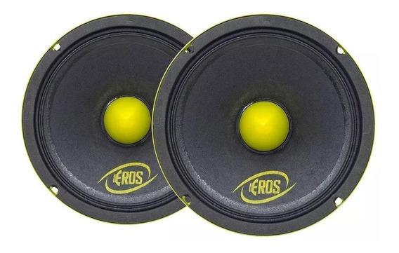 Kit Com 2 Alto Falantes Eros 6mb 400w 6 Polegadas 4 Ohms