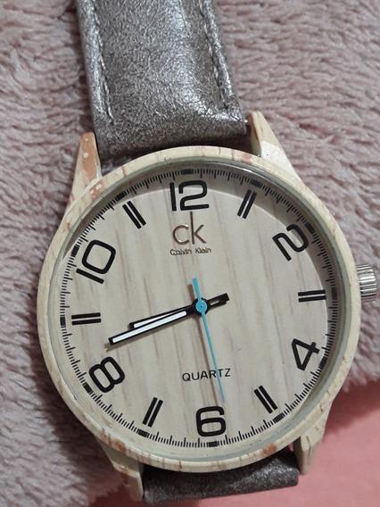 Relógio Unissex Lançamento Pulseira De Couro Outlet