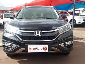 Honda Cr-v Exl 4x4 Aut. 2016 Preta Flex