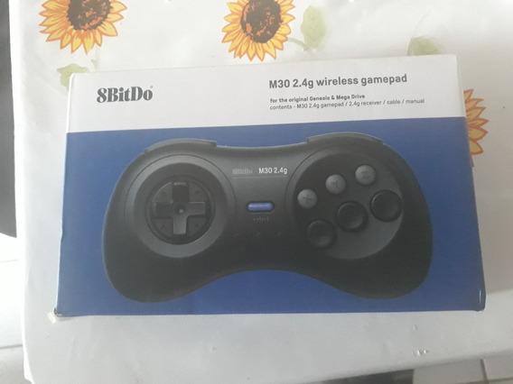 Controle 8bitdo 2.4 G Para O Mega Drive Com 8 Botões.